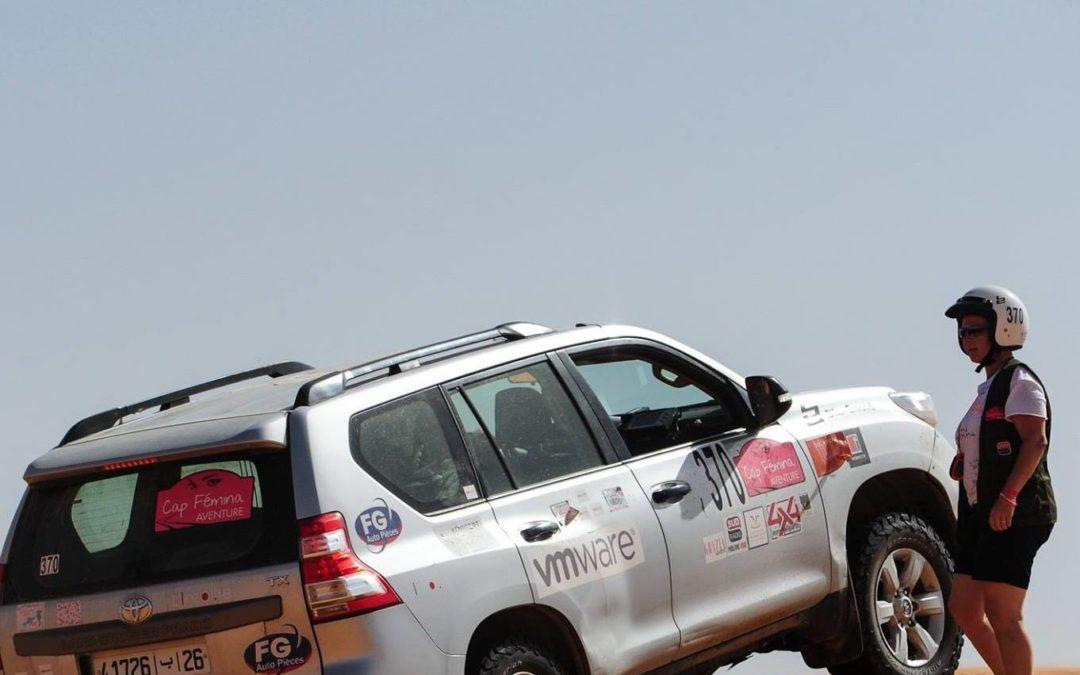 Une équipe du Cap Fémina soutien l'ASBL