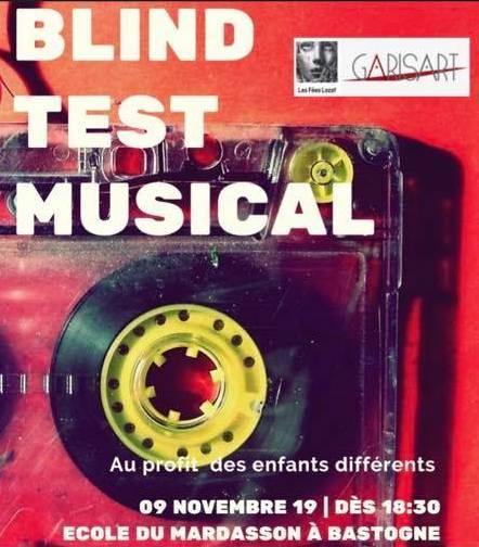 Un Blind Test musical avec Garisart Thérapie Programme